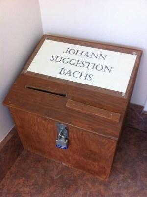 JohannSuggestionBachs